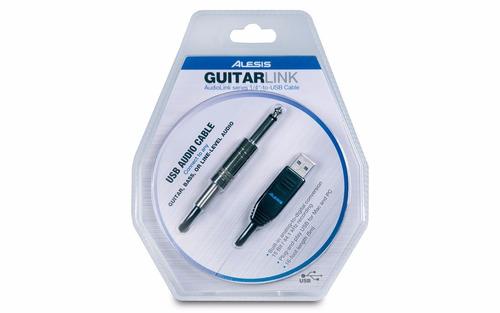 alesis guitar link interfaz usb plug profesional guitarra