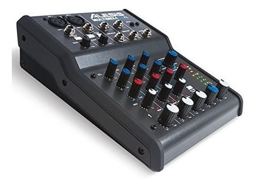 alesis multimix 4 usb fx | 4-mezclador de canales con efect