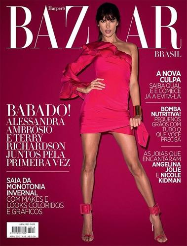 alessandra ambrosio revista harpers bazaar ed.20-jun\2013