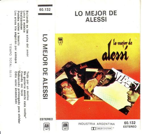 alessi brothers - lo mejor de alessi - raro cassette pvl