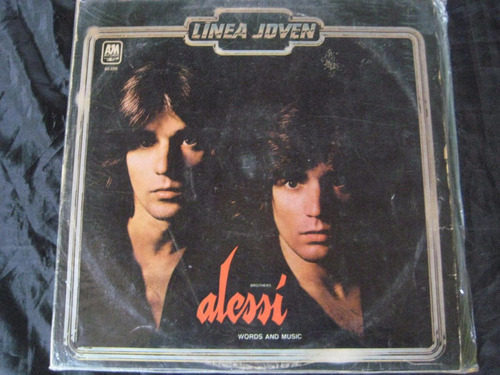 alessi brothers -words and music- lp vinilo laferrere-ba