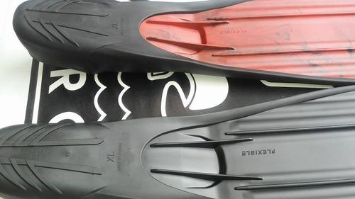 aletas buceo caza submarina apnea talón cerrado