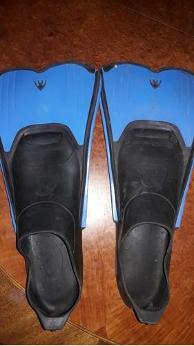 aletas cortas patas de rana natacion pileta crecci