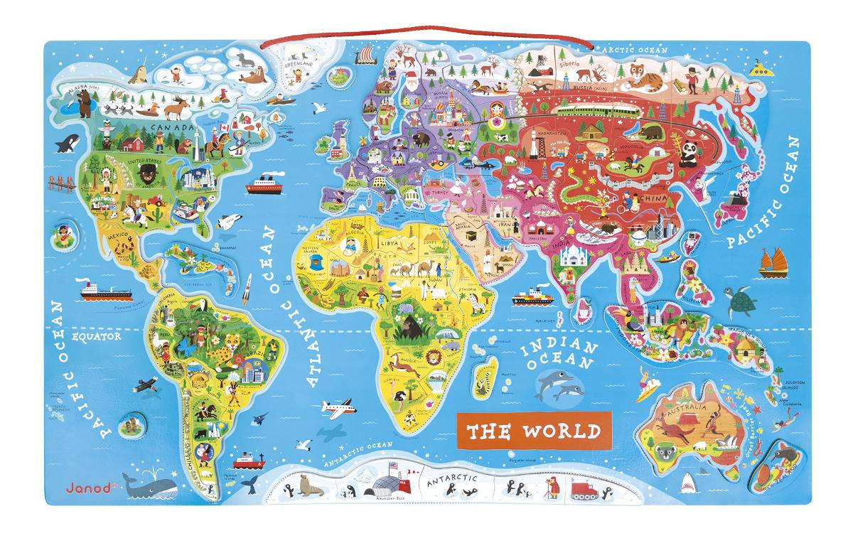 Alex brands imnic world map rompecabezas english 502000 en alex brands imnic world map rompecabezas english cargando zoom gumiabroncs Gallery