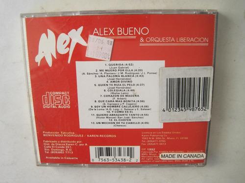 alex bueno & orquesta liberación merengue 1992 cd colección