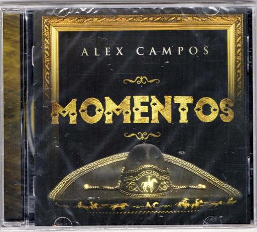 alex campos. momentos. cd original nuevo