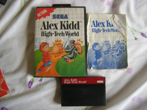 alex kidd high tech world americana e completa ,confira!!