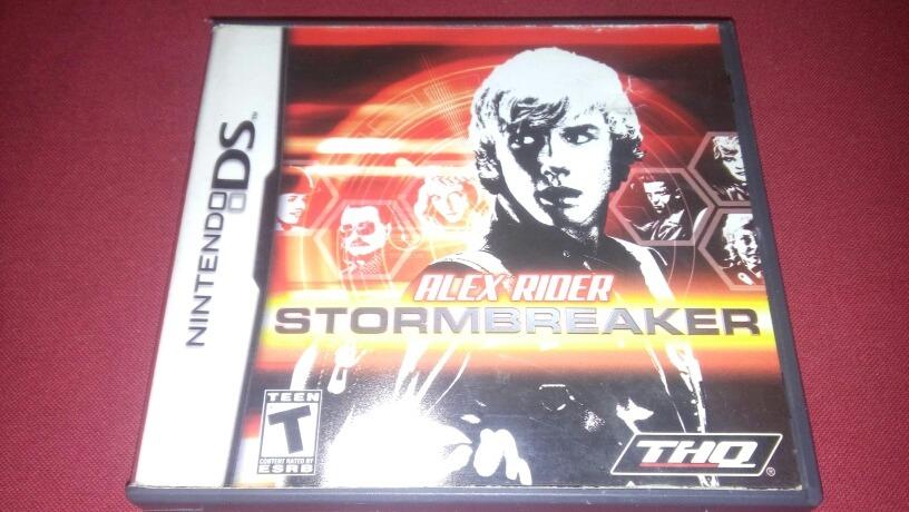 alex rider stormbreaker ds