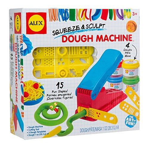 alex toys artist studio aprieta y esculpe la máquina de masa