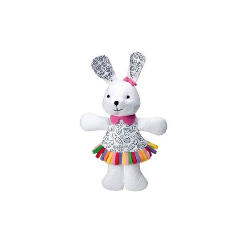 alex toys craft color and cuddle wasable bunny