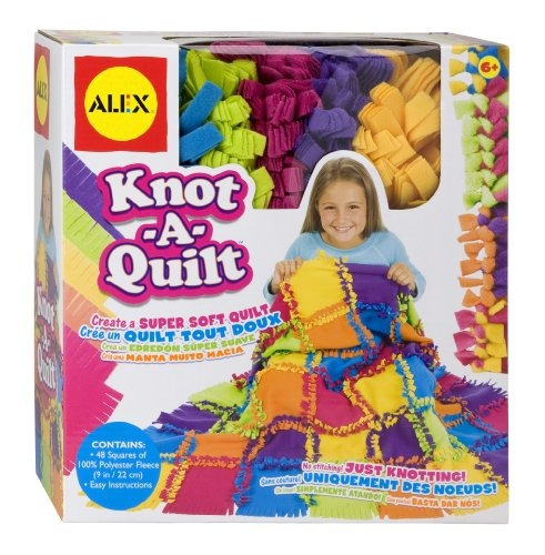 alex toys - craft, nudo a edredón kit, 383wn