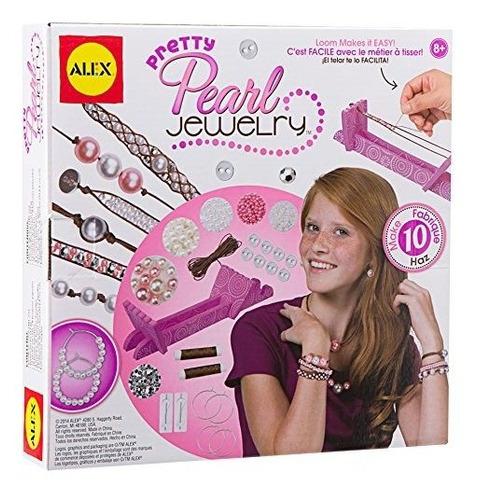 alex toys diy wear pretty pearl jewelry
