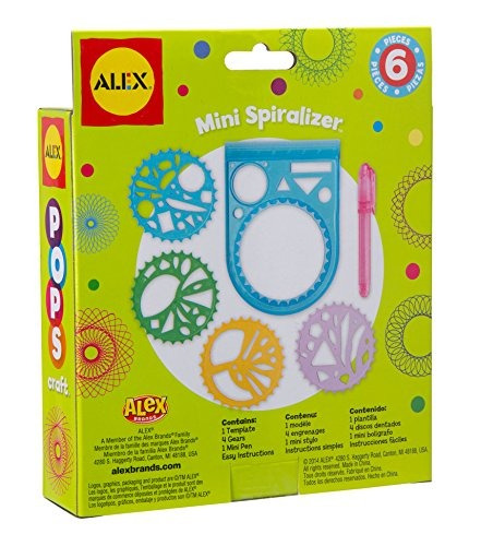 alex toys pops craft mini spiralizer