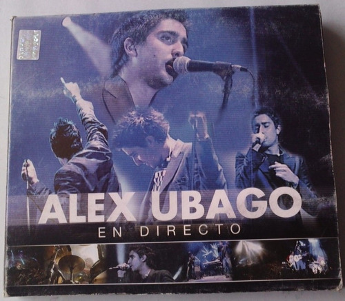 alex ubago en directo cd y dvd presentacion digipack 1a edic