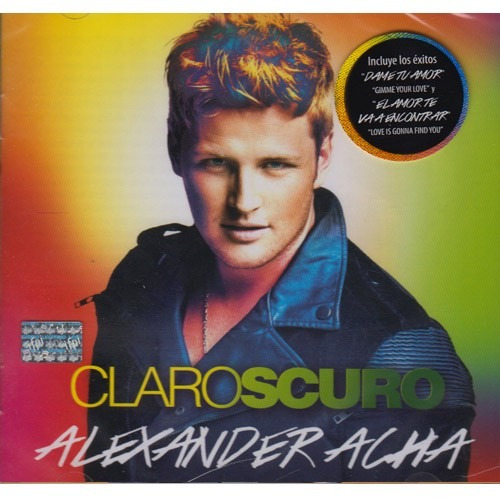 alexander acha claroscuro  disco cd con 12 canciones