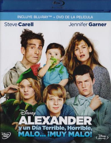 alexander y un dia terrible horrible malo pelicula blu-ray