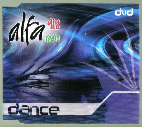 alfa 91.3 dvd dance single unica ed en excelentes cond  idd