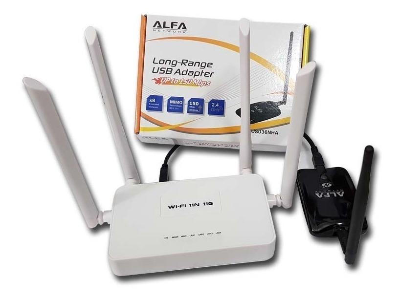 Alfa Awus036nha Receptor Wifi Chipset Atheros Ar9271