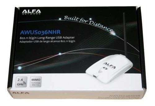 alfa awus036nhr v2 - high-power  2w  b/g/n receptor wifi