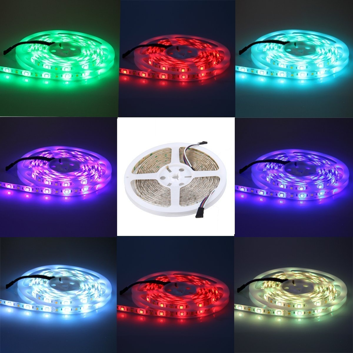 Alfa lighting led strip 5m rgb led strip light strip with 15 5m rgb led strip light strip with 15 cargando zoom aloadofball