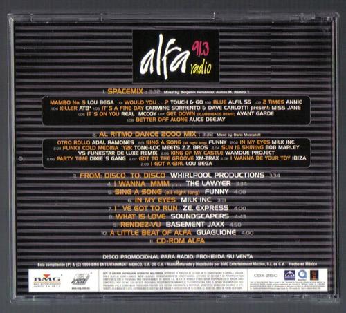 alfa radio 91.3 navidad 1999 cd interactivo 1999