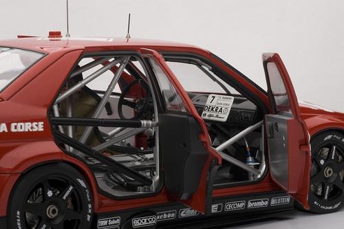 alfa romeo 155 v6 ti dtm auto de colección a escala