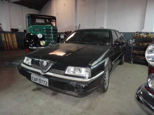 alfa romeo 164 super 1995 preta automática 215cv