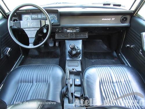 alfa romeo 2300b 1977 original com ar cond ateliê do carro