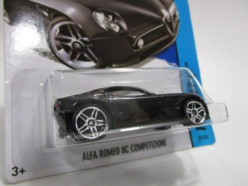 alfa romeo escala miniatura 1/64 coleccion hot wheels t18