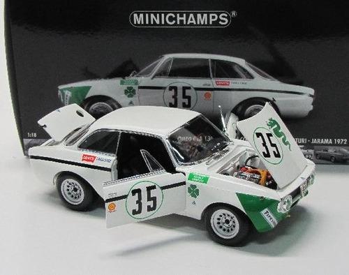 alfa romeo gta 1300 #35 jarama 1972 - 1:18 minichamps