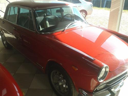 alfa romeo - jk - 1970 - raridade - vermelho