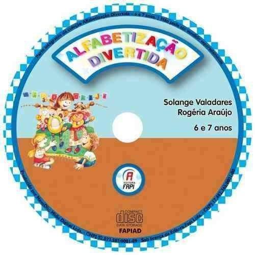 alfabetização divertida - 6 e 7 anos com cd