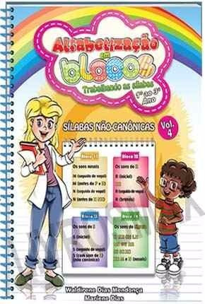 alfabetização em blocos - trabalhando as sílabas - 1º ao 3º