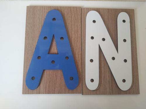 alfabeto alinhavo + numeros alinhavo mdf