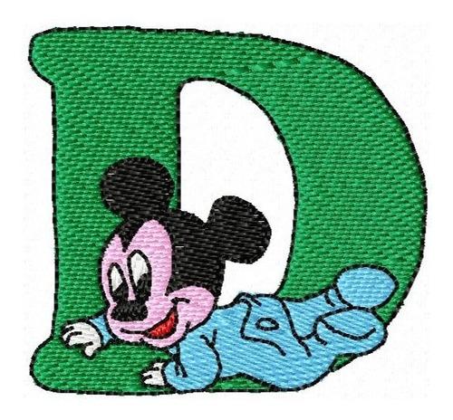 alfabeto disney - coleção de matriz de bordado