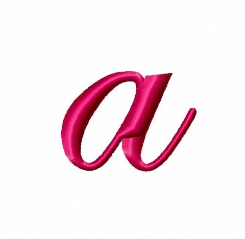 alfabeto letras cursiva matrizes p/ bordado 06, envio grátis