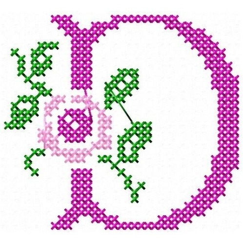 alfabeto marina ponto cruz - coleção de matriz de bordado