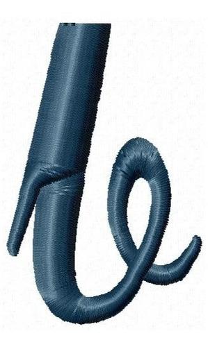 alfabeto minúsculo generic - coleção matriz bordado cursivo
