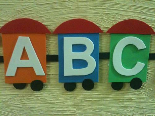 alfabeto para sala de aula