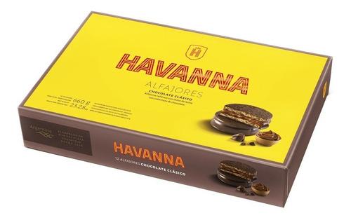 alfajor havanna chocolate estuche 12u barata la golosineria