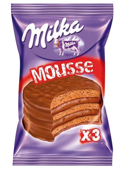 Resultado de imagen para milka mousse triple