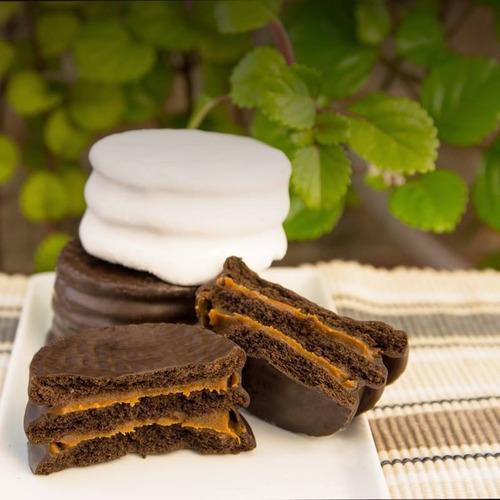 alfajor triple night chocolate dulce de leche fantoche 85g
