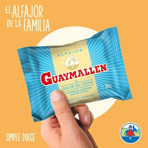 alfajores guaymallen simples 20 unidades fiestissima liniers