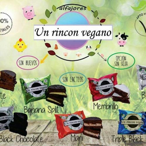 alfajores veganos 6 gustos