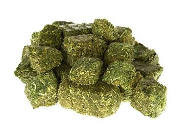 alfalfa premium en cubos (envasada en origen) x 500 gr.