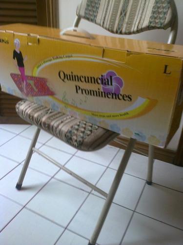 alfambra masajeadora de pies, practicamente nueva