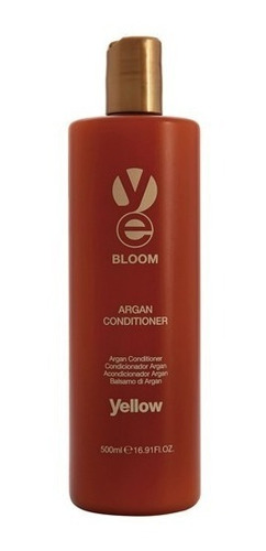 alfaparf argan acondicionador  bloom yellow