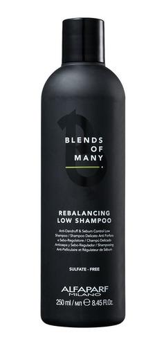 alfaparf blends of many rebalancing low - shampoo 250ml