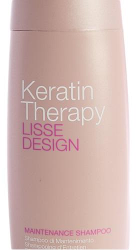 alfaparf liss design keratin shampoo sin sulfato 250ml