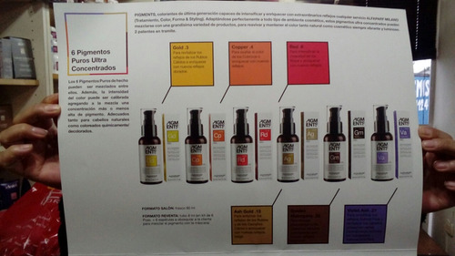 alfaparf pigmento puro ultraconcentrado x 90 ml + mascara